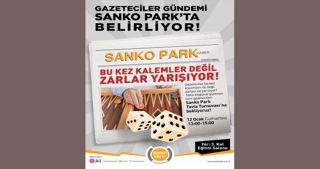 Sanko Park Alışveriş Merkezi'nde ödüllü tavla turnuvası