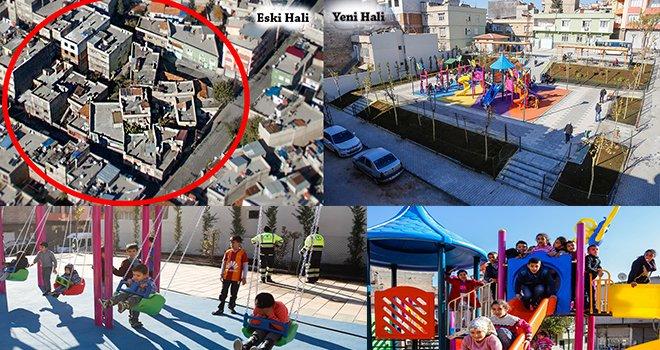 Şehitkamil Hasırcıoğlu Mahallesi'nde park sorununu çözdü