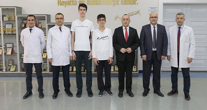 Coğrafya olimpiyatları, İstanbul Enka Okullarında düzenlendi