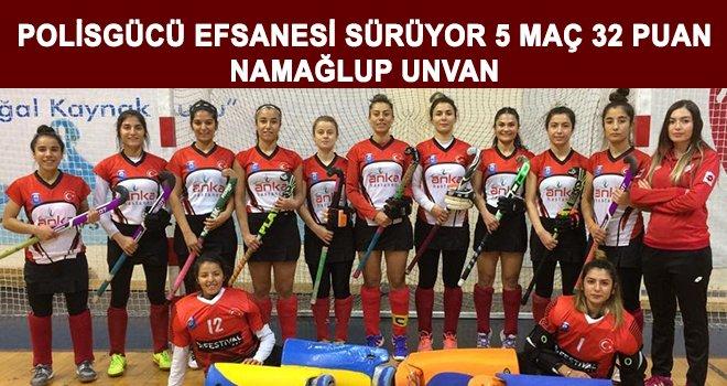 Gaziantep Polisgücü Türkiye Şampiyonluğuna koşuyor