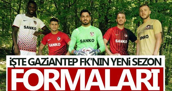 Gaziantep, yeni sezonda giyeceği formaları tanıttı