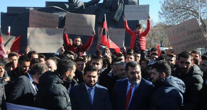 Gaziantepspor için destek mitingi yapıldı