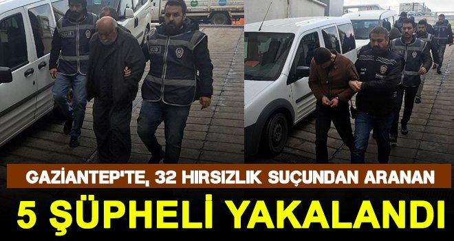 Gaziantep'te kablo fareleri yakalandı