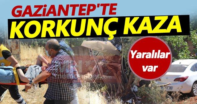Gaziantep'te trafik kazası: Yaralılar var...