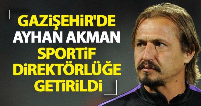 Gazişehir Gaziantep, Ayhan Akman ile anlaştı