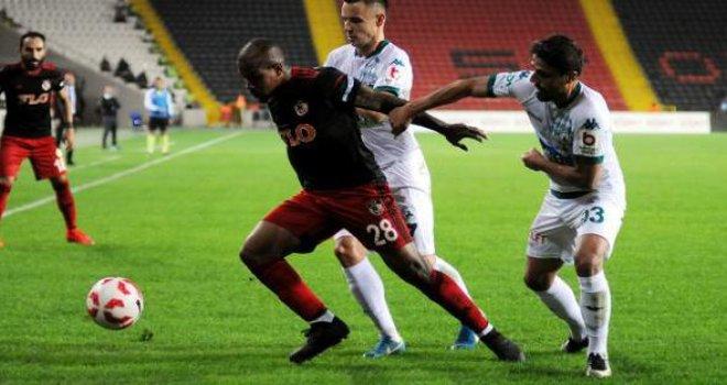 Gazişehir Gaziantepspor,Giresunspor: 1-1
