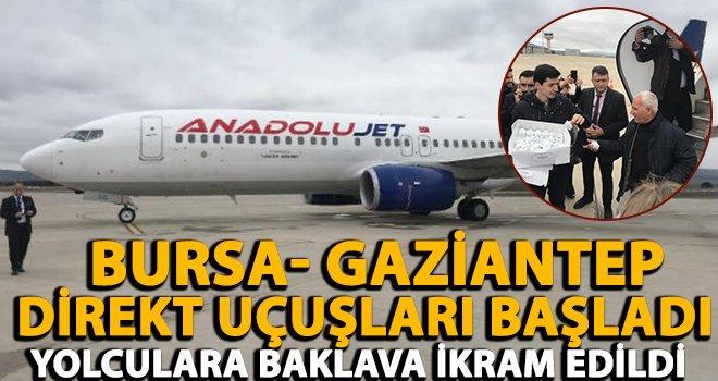 İlk sefer Gaziantep'ten Bursa'ya gerçekleştirildi