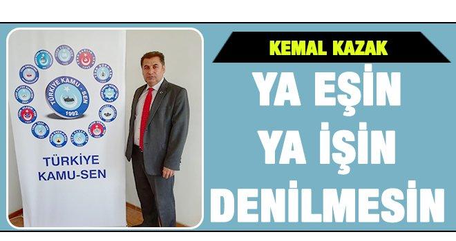 Kazak, sözleşmeli istihdam modeli hakkında açıklamada bulundu