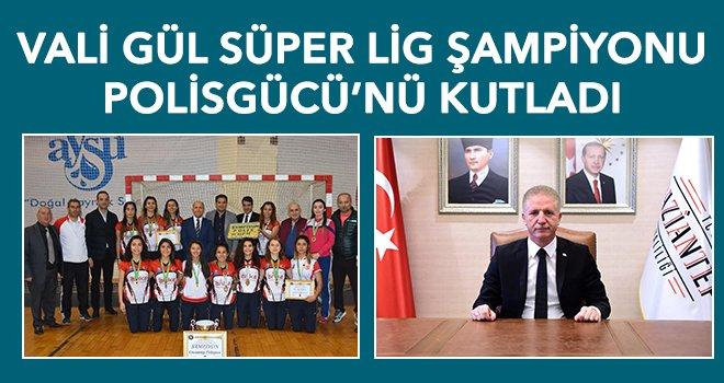 Polisgücü'nün başarısı Gaziantep'te büyük bir yankı buldu