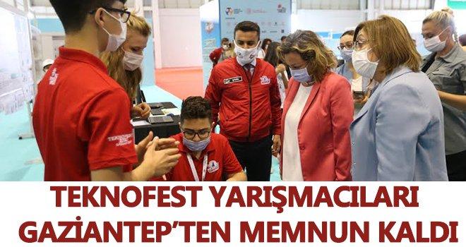 TEKNOFEST yarışmacıları, Gaziantep'ten memnun kaldı