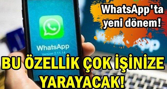 WhatsApp'a parmak izi özelliği...