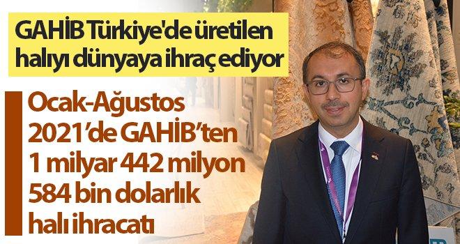 144 ülkenin halısı Gaziantep'ten