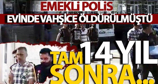 17 yerinden bıçaklanarak öldürülen emekli polis...