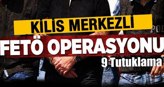 19 ildeki FETÖ operasyonunda 9 tutuklama