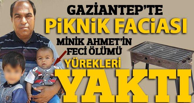 2 yaşındaki Ahmet'in feci ölümü: Kebap mangalında can verdi