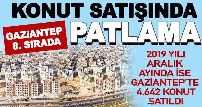 2019'da Gaziantep'te 32 bin ev satıldı