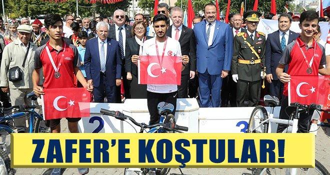 30 Ağustos Zafer Bayramı Koşusu düzenlendi