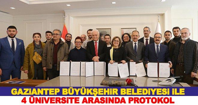 4 üniversite arasında, iş Birliği Protokolü imzalandı