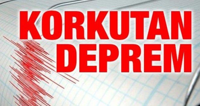 4.8 büyüklüğündeki deprem Gaziantep'te de hissedildi