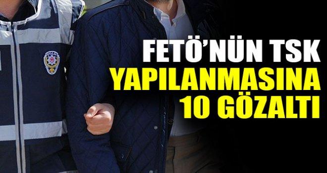 6 ilde eş zamanlı FETÖ operasyonu: 10 gözaltı