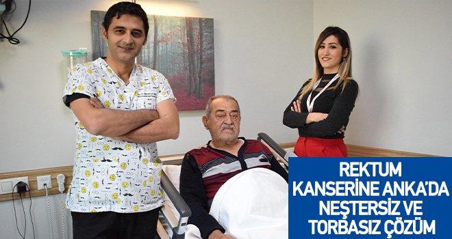 77 yaşındaki hasta, Anka'da sağlığına kavuştu