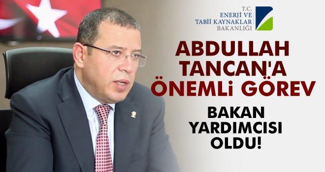 Abdullah Tancan'a Gaziantep'i onurlandıran görev