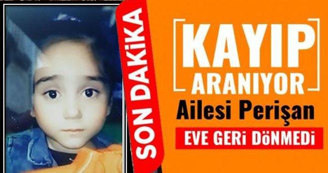 Acılı aile perişan! Kayıp Reyyan  her yerde aranıyor