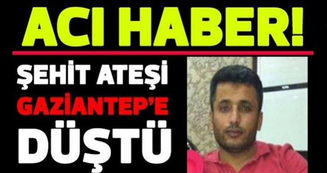 Adıyaman'da şehit olan 4 askerden birisi Gaziantep'li Aydın Özer