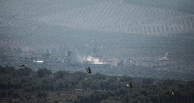 Afrin'deki PKK/PYD mevzileri böyle vuruldu