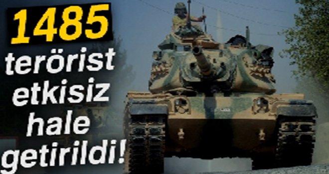 Afrin'e Zeytin Dalı Harekatı'nda 26. gün!