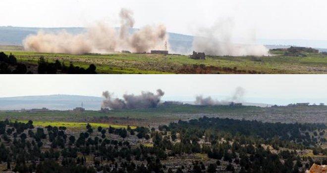 Afrin'in güneydoğusudaki son köy de ele geçirildi