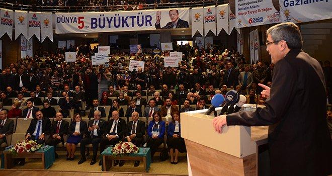 AK Parti 6. Olağan Kongreleri Gaziantep'in 9 ilçesinde tamamlandı