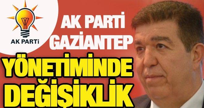 AK Parti Gaziantep il başkan vekiliğinde değişiklik