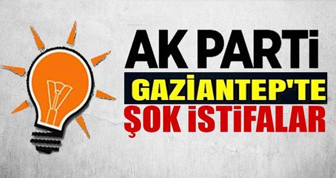 AK Parti Gaziantep teşkilatlarında flaş istifalar: Peş peşe geldi...