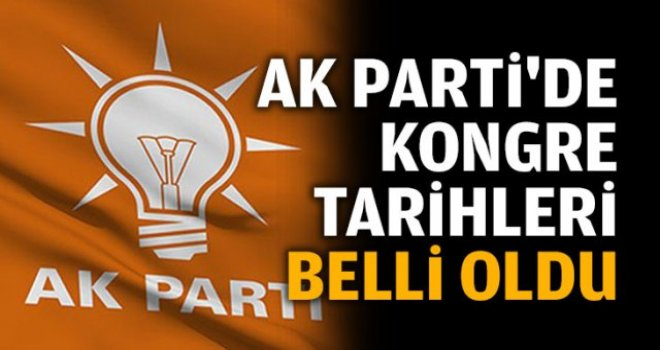 AK Parti Gaziantep'te kongre tarihleri belli oldu