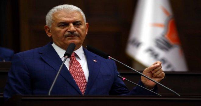 AK Parti Grup Başkanı Binali Yıldırım seçildi