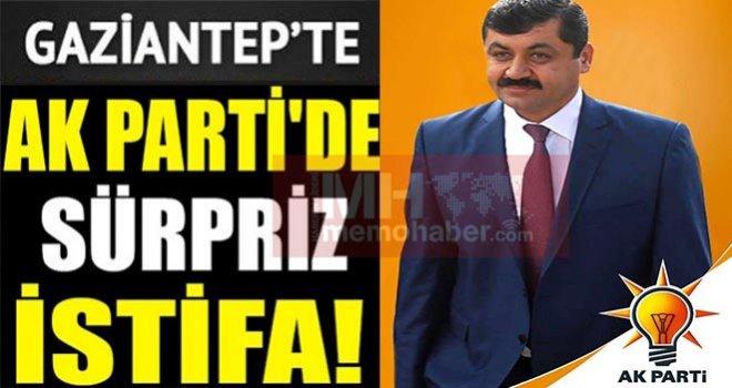 AK Parti Oğuzeli ilçe başkanı Ateş'in son dakika süpriz istifası