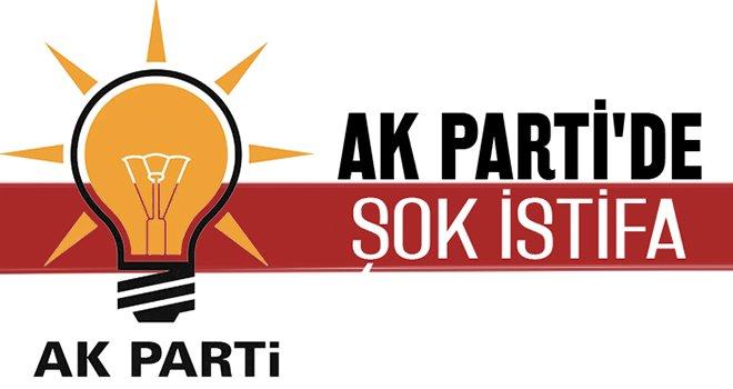 AK Parti Şahinbey'de istifa!..