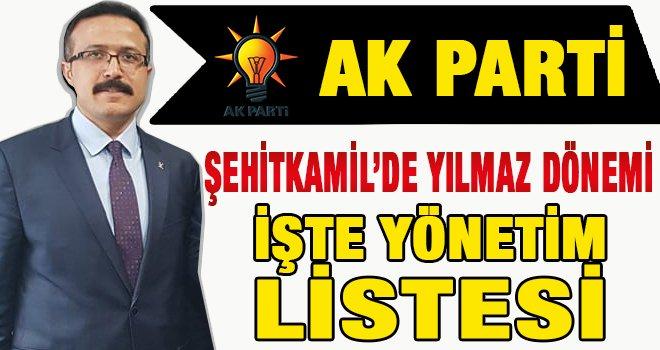 AK Parti Şehitkamil'de Kongre heyacanı! İşte yönetim listesi