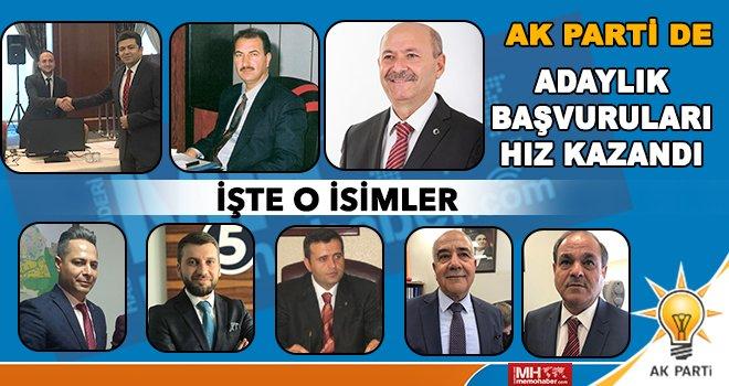 AK Parti'de adaylık süreci kızıştı! İşte o adaylar