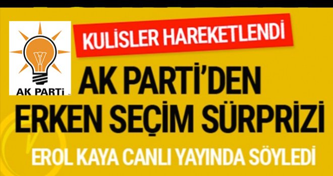 AK Parti'den flaş yerel seçim açıklaması