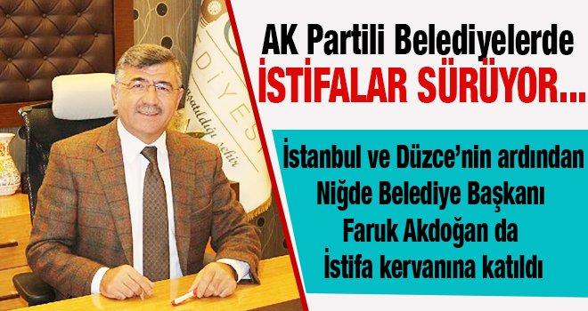 AK Partili Belediye Başkanından Şok istifa...