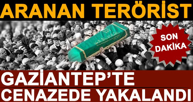 Aranan PKK/PYD üyesi katıldığı cenazede yakalandı