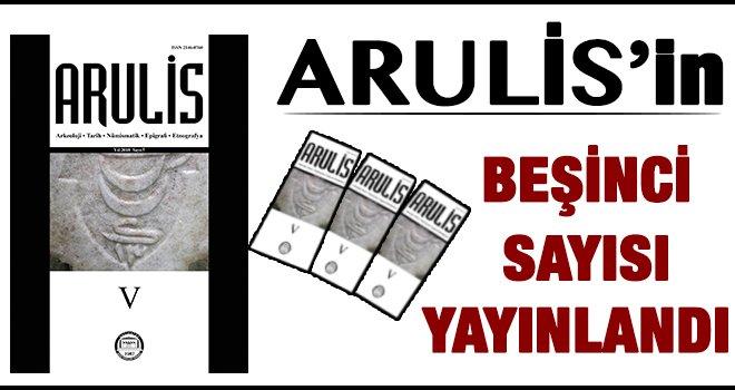 Arulis'in beşinci sayısı yayınlandı