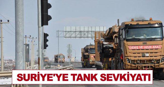 Askeri konvoy, Gaziantep'in İslahiye ilçesine ulaştı