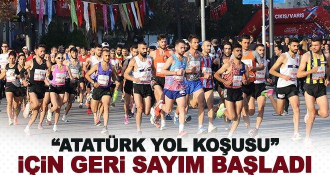 'Atatürk Yol Koşusu' için geri sayım başladı