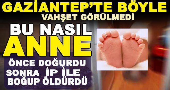 Ayrıldığı nişanlısından dünyaya getirdiği bebeği boğarak öldürdü