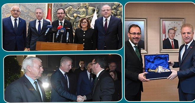 Bakan Kasapoğlu Gaziantep'te