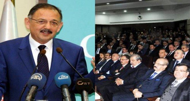 Bakan Özhaseki 'Çevre ve Şehircilik Buluşmaları'na katıldı