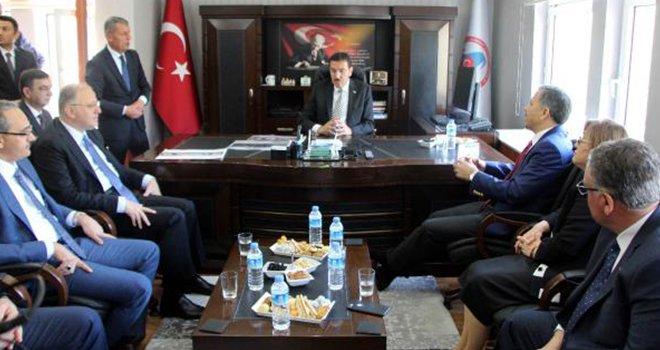 Bakan Tüfenkci: Habur Sınır Kapısı'nı revize ediyoruz